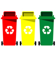 recycle bin vector image