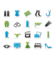 Sex Erotic and temptation icons vector image