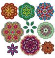 set color circle 3 380 vector image