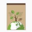Brochure Flyer design Layout template Ecology vector image vector image