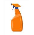 bottle with liquid detergent vector image