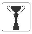 Trophy cup icon 14 vector image