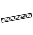 Local Authority rubber stamp vector image