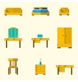Icon for furniture vector image