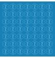 caduceus background design vector image
