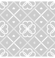 Geometrical seamless pattern with hearts vector image