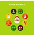 Happy New Year Infographics vector image