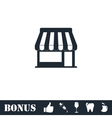 Cafe icon flat vector image