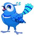 Bluebird vector image