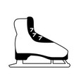 ice skate icon image vector image