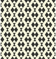 Geometric monochrome pattern vector image