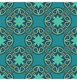 Colorful pattern with lacy ornament vector image