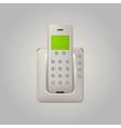 home radiotelephone vector image