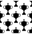 Vintage trophy cups seamless pattern vector image vector image