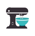 mixer appliance kitchen isolated vector image