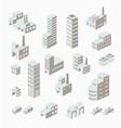 A set of urban vector image