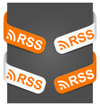 left and right side signs rss vector image
