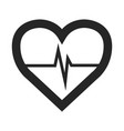 isolated medical icon vector image