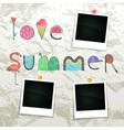 Love Summer vector image
