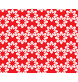 red white ornament 2 380 vector image
