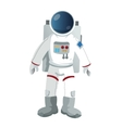 astronaut suit icon vector image