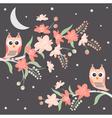 Night Owls vector image