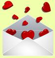 Valentine's envelope  vector image vector image