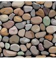 decorative stone wall vector image vector image