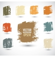 Grunge colorful squares vector image