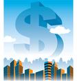 MoneyStatue vector image