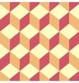 Seamless pattern cube art vector image