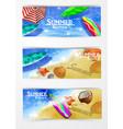 colorful umbrella swimming pool vector image