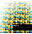 mosaic abstract color background vector image