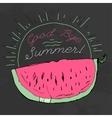 Hand drawn Watermelon 01 A vector image