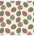 seamless Easter eggs pattern Elegant vector image