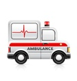 ambulance car vector image vector image