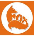 animals logo fox vector image