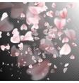 Pink petals EPS 10 vector image
