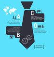 business infographics template for text and vector image