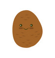 potato icon in flat style vector image
