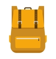 School bag isolated vector image