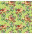 birds seamless 2 380 vector image