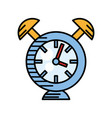 clock alarm watch time vector image
