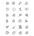 Sports Hand Drawn Doodle Icons 7 vector image