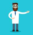 Professional vet doctorcharacter vector image