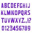 Sans serif vector image