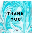 Thank you hipster boho background vector image
