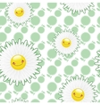 Flower fields of white flowers vector image