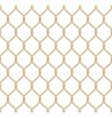 Rope marine net pattern vector image