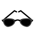 sunglasses fashion lens vector image